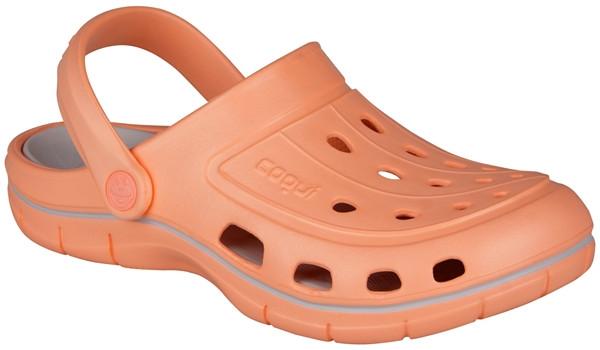 Jumper Clog, Coral/Khaki Grey 4