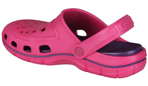 Jumper Clog, Light Fuchsia/Dark Lila 2