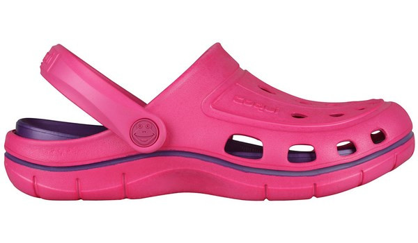 Jumper Clog, Light Fuchsia/Dark Lila 1