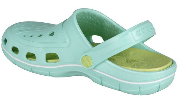 Jumper Clog, Light Mint/Light Lime 2