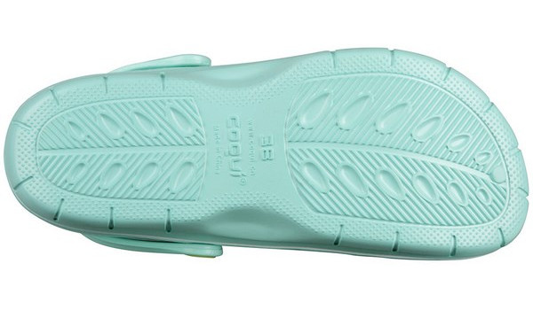 Jumper Clog, Light Mint/Light Lime 3