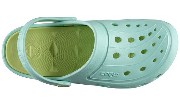 Jumper Clog, Light Mint/Light Lime 5