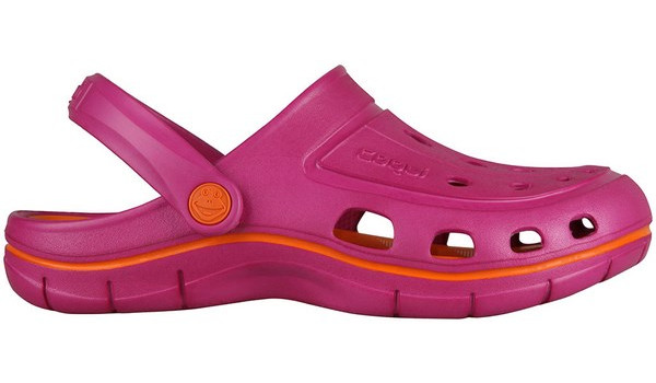 Jumper Clog, Magenta/Dark Orange 1
