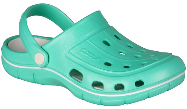 Jumper Clog, Mint/White 4
