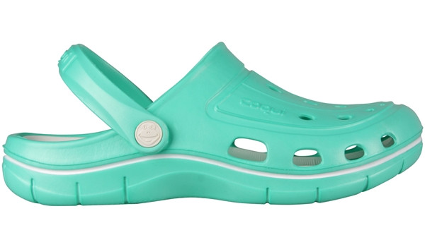 Jumper Clog, Mint/White 1