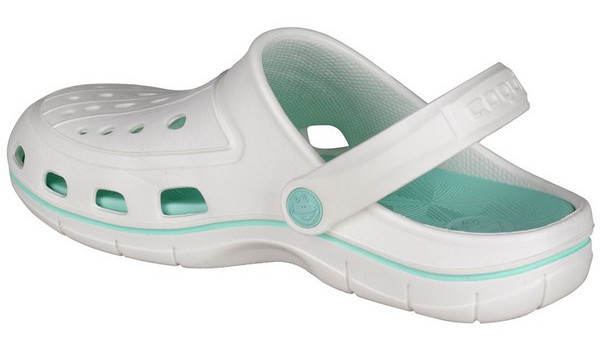 Jumper Clog, White/Light Mint 2