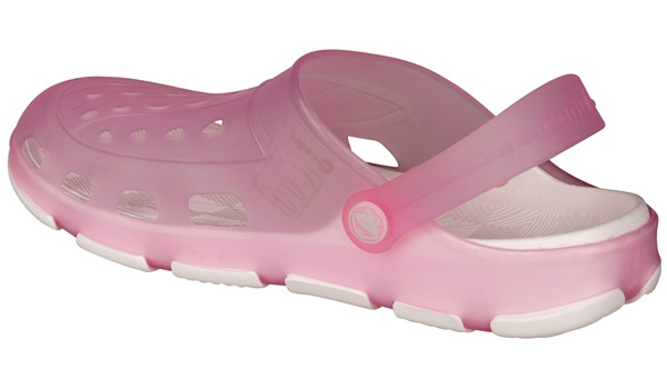 Jumper Fluo Clog, Pink/White 2