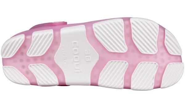 Jumper Fluo Clog, Pink/White 3