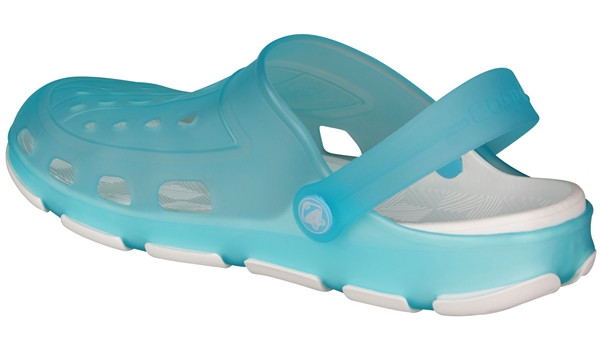 Jumper Fluo Clog, Turquoise/White 2