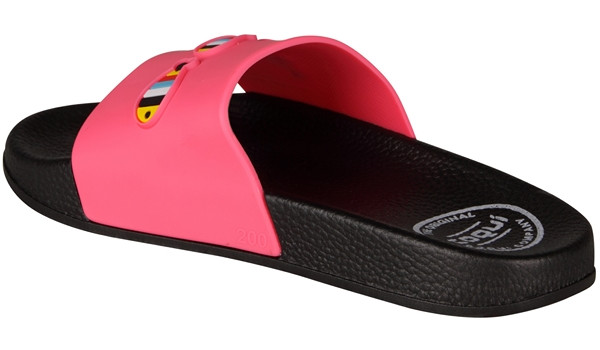 Kids Ruki Slipper, Fuchsia 3