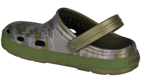 Lindo Clog, Army Green/Camo 2