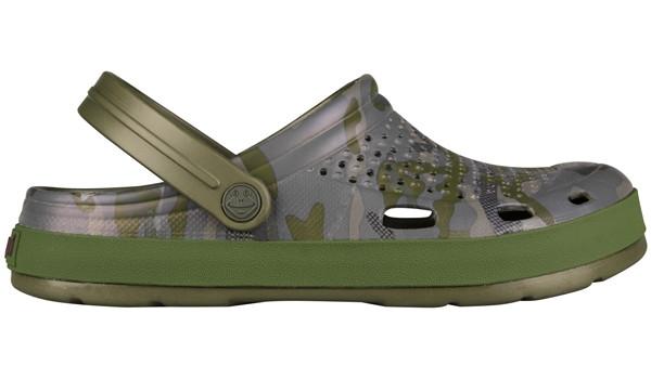 Lindo Clog, Army Green/Camo 1
