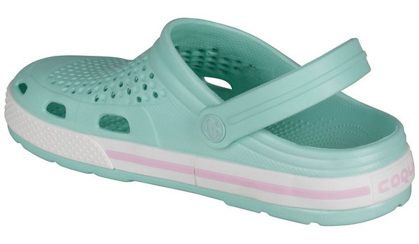Lindo Clog, Light Mint/White 2