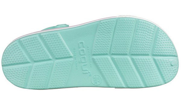 Lindo Clog, Light Mint/White 3
