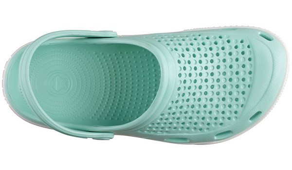 Lindo Clog, Light Mint/White 5