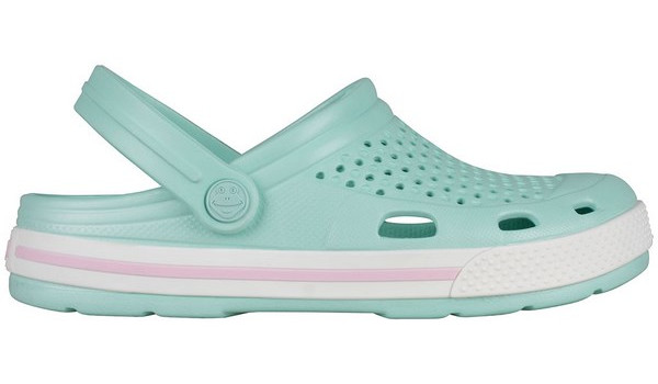 Lindo Clog, Light Mint/White 1