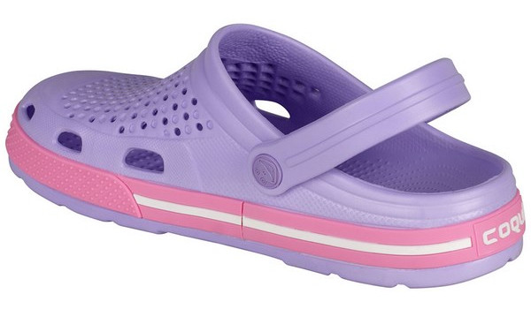 Lindo Clog, Light Lila/Pink 2