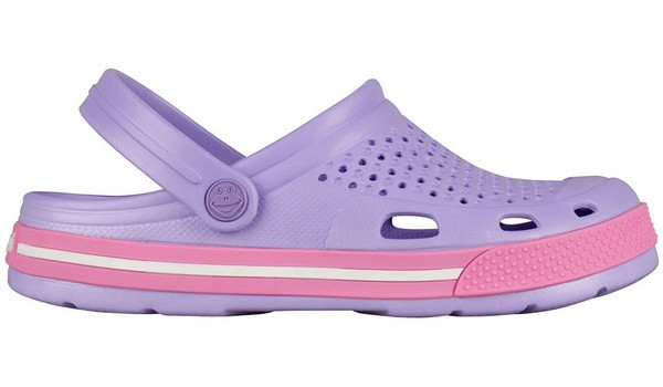 Lindo Clog, Light Lila/Pink 1