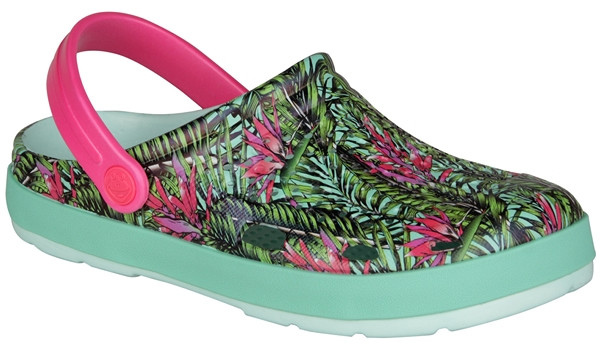 Lindo Clog, Light Mint/Tropical 4