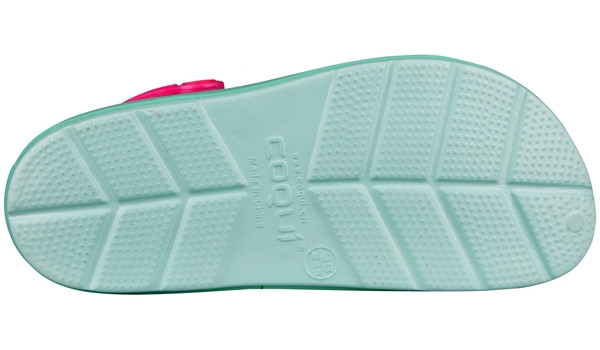 Lindo Clog, Light Mint/Tropical 3