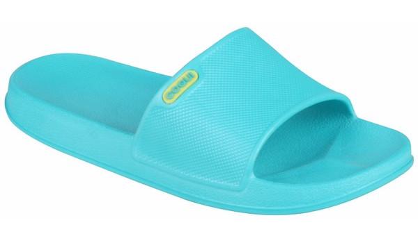 Tora Slide, Turquoise 4
