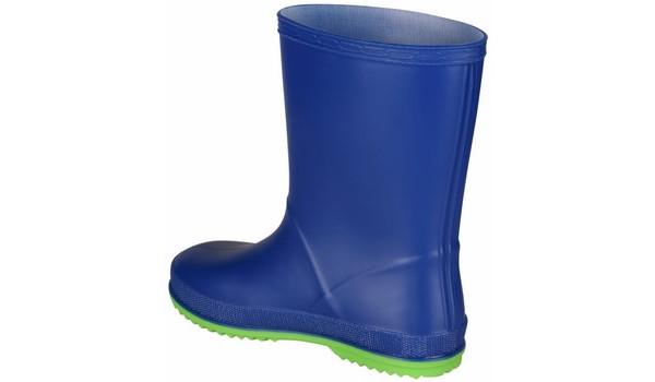 Kids Rainy Boot, Blue/Lime 2