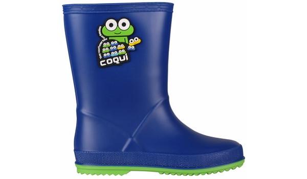 Kids Rainy Boot, Blue/Lime 1