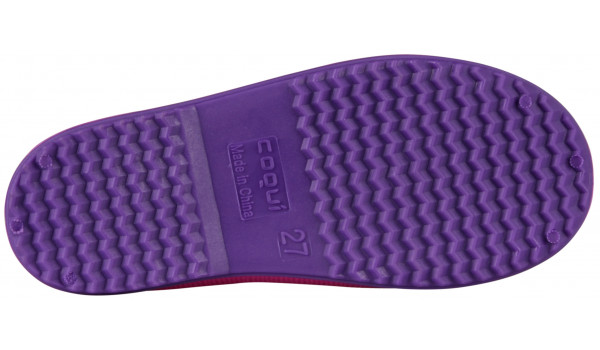 Kids Rainy Boot, Fuchsia/Purple 3