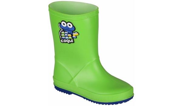 Kids Rainy Boot, Lime/Blue 4
