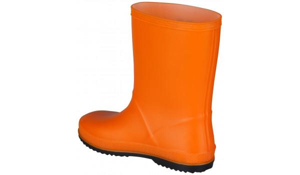 Kids Rainy Boot, Orange/Navy 2