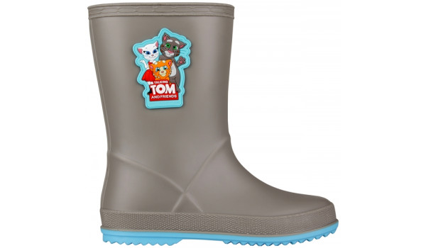 Kids Talking Tom & Friends Rainy Boot, Mid Grey/New Blue 1