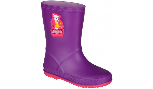 Kids Talking Tom & Friends Rainy Boot, Purple/Light Fuchsia 4