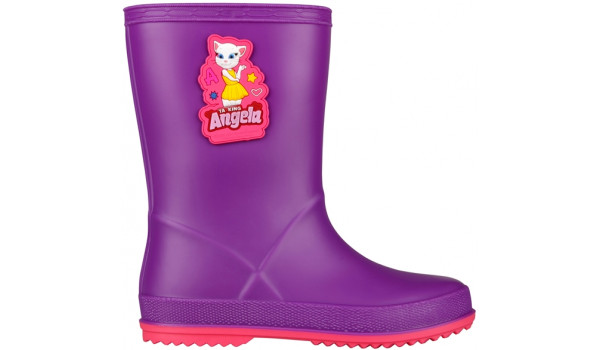 Kids Talking Tom & Friends Rainy Boot, Purple/Light Fuchsia 1