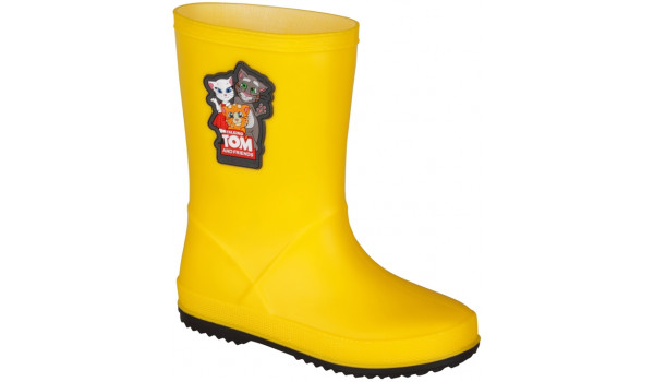 Kids Talking Tom & Friends Rainy Boot, Yellow/Antracit 4