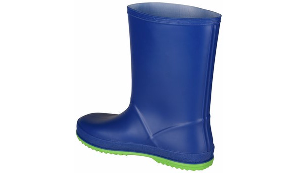 Kids Rainy Boot Junior, Blue/Lime 2