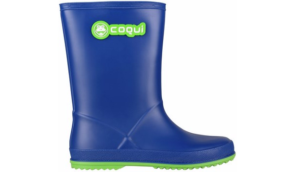Kids Rainy Boot Junior, Blue/Lime 1