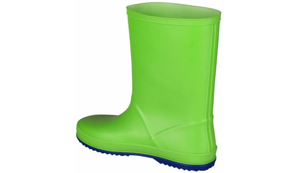 Kids Rainy Boot Junior, Lime/Blue 2