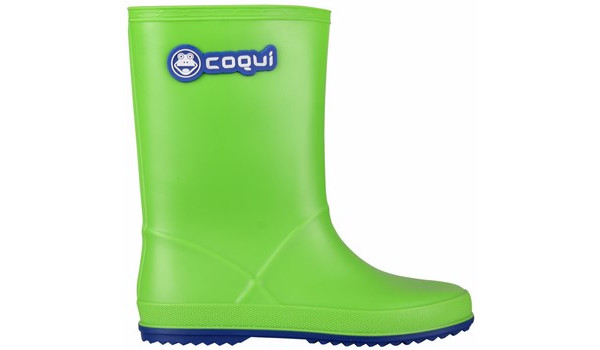 Kids Rainy Boot Junior, Lime/Blue 1