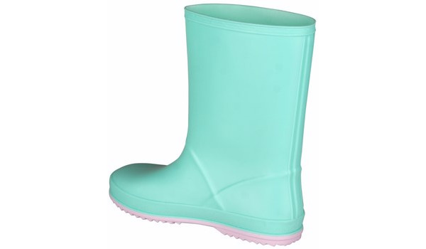 Kids Rainy Boot Junior, Mint/Candy Pink 2