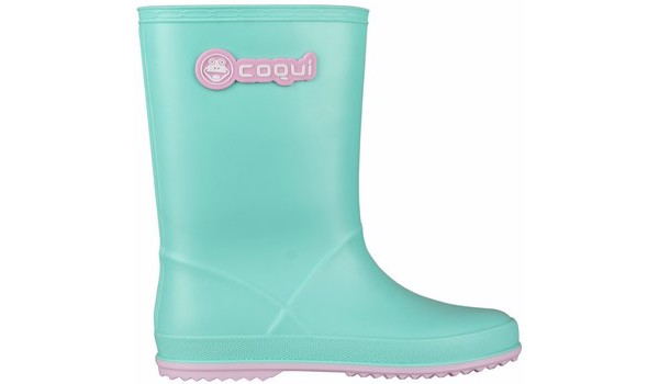 Kids Rainy Boot Junior, Mint/Candy Pink 1