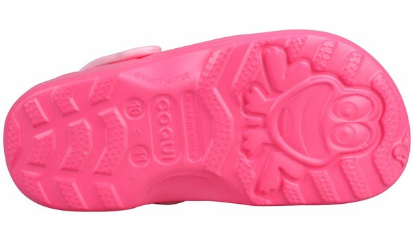 Kids Little Frog Clog, New Rouge/Candy Pink 3