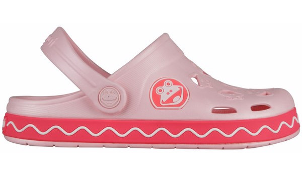 Kids Froggy Clog, Candy Pink/New Rouge 1