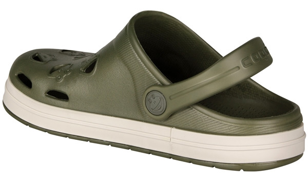 Kids Froggy Clog, Army Green 2