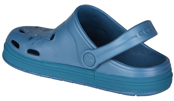 Kids Froggy Clog, Niagara Blue 2
