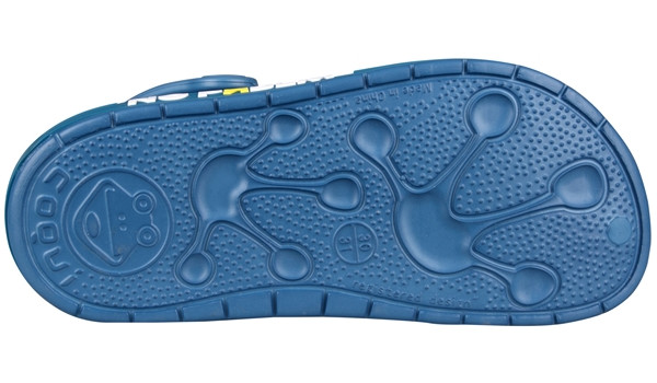Kids Froggy Clog, Niagara Blue 3