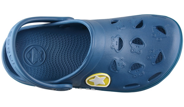 Kids Froggy Clog, Niagara Blue 5