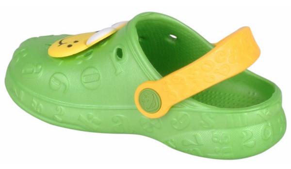 Kids Hoppa Clog, Lime 2