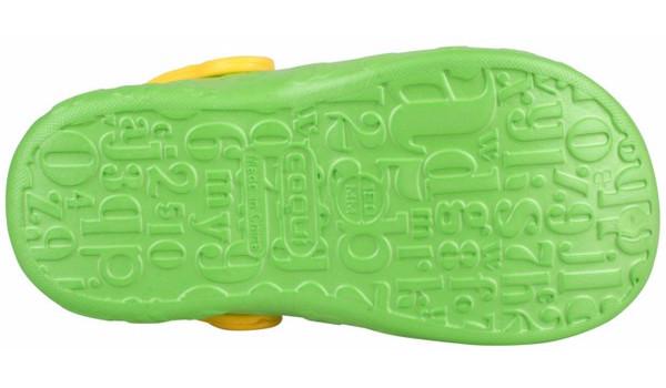 Kids Hoppa Clog, Lime 3