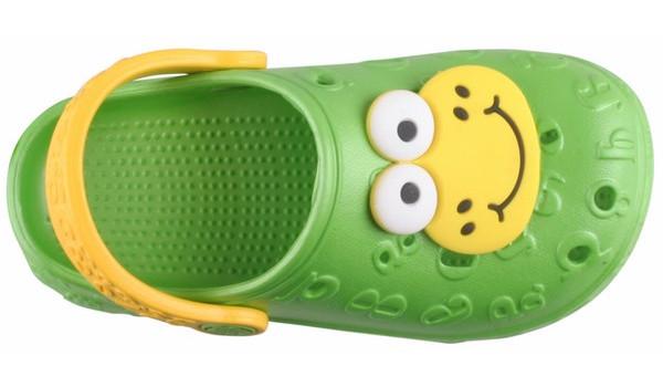 Kids Hoppa Clog, Lime 5