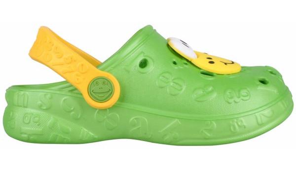 Kids Hoppa Clog, Lime 1